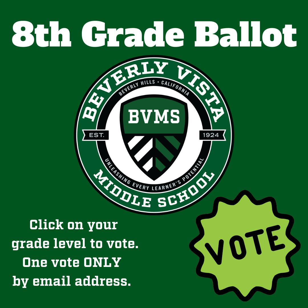 8th grade ballot
