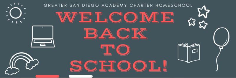 Welcome back chalk board