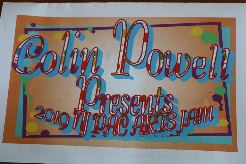Colin Powell Arts Jam 2019 Invitation