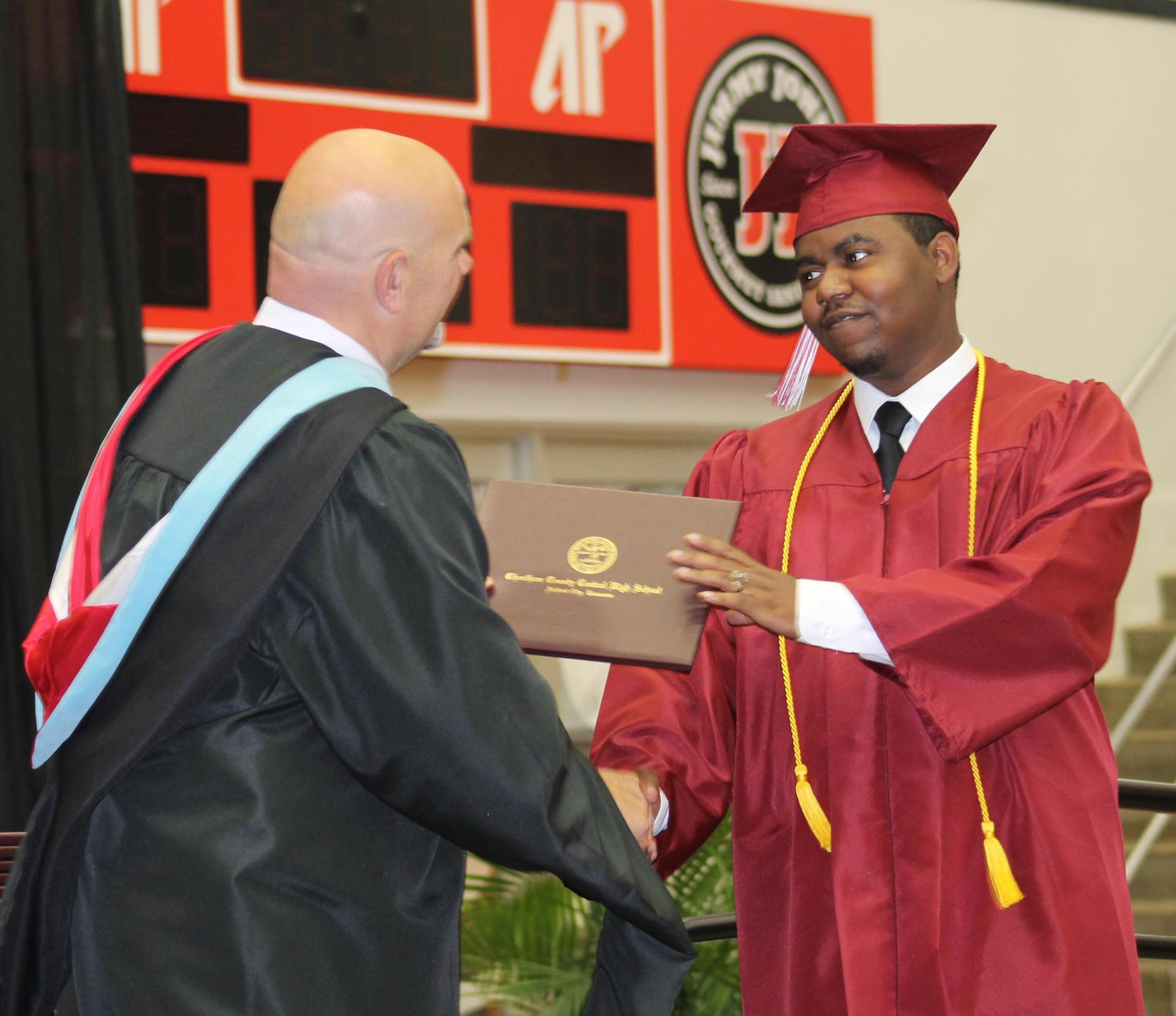 CCCHS graduation