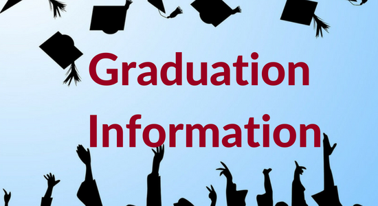 a graphic that says Graduation Information