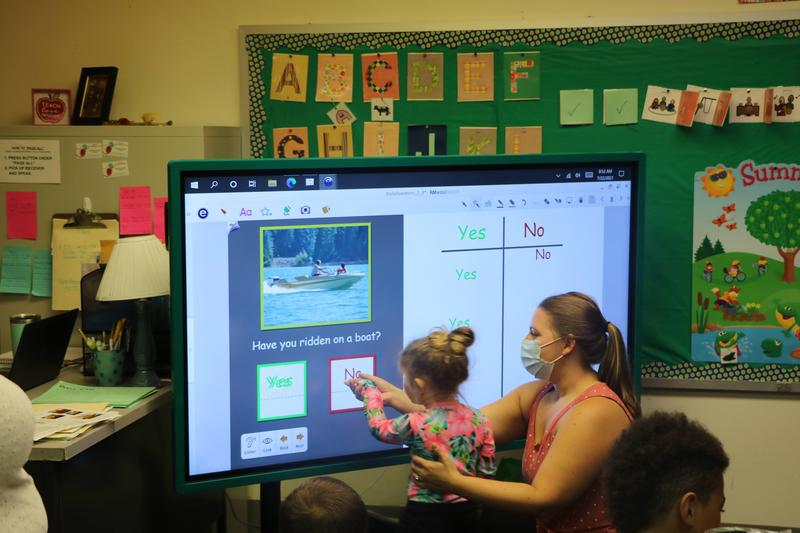 New Interactive Screens Implemented in Early Intervention Classrooms Featured Photo