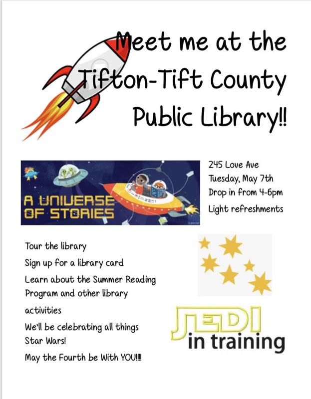 Meet Me at the Tift County Public Library Featured Photo