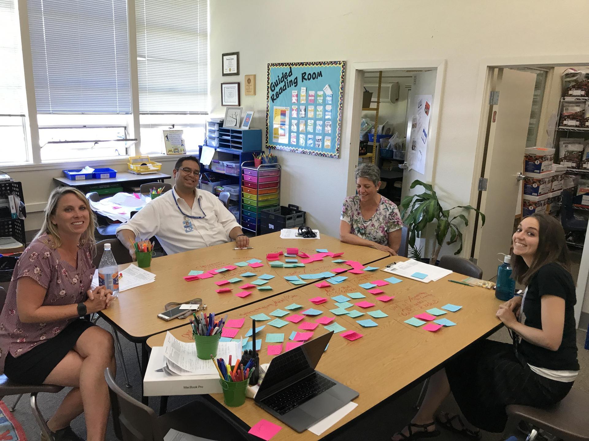 instructional leadership team members