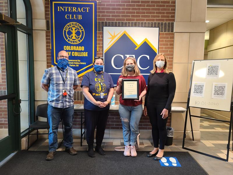 CECP Interact/Young Rotary Awarded Presidential Citation! Featured Photo