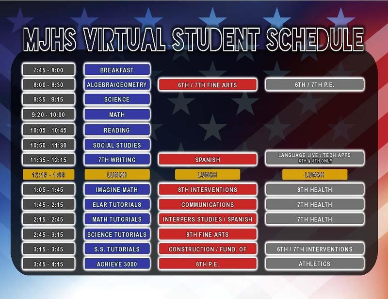 NEW VIRTUAL SCHEDULE FOR WEB CLASSES Featured Photo
