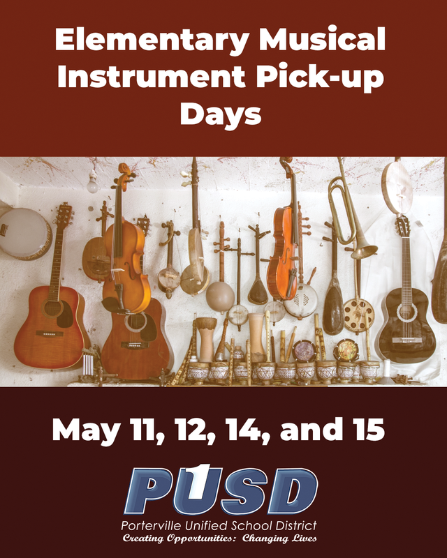 Elementary Musical Instrument Pickup