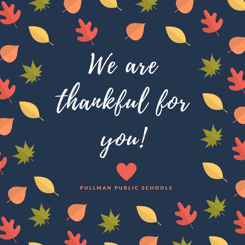 Enjoy Thanksgiving break! Thumbnail Image
