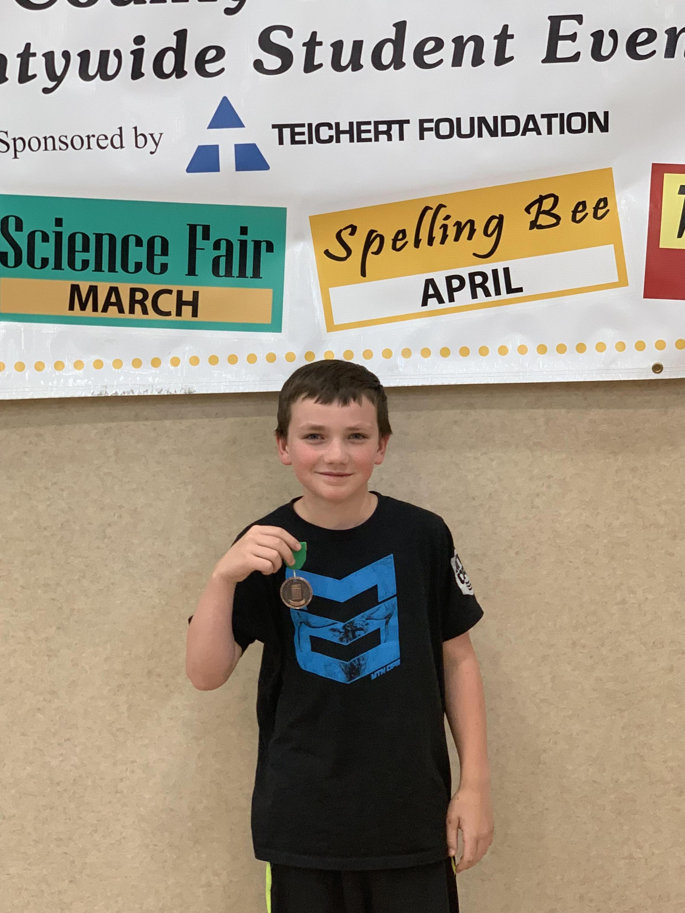 6th grade 5th place winner Blitz