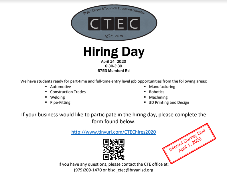 CTEC Career Day