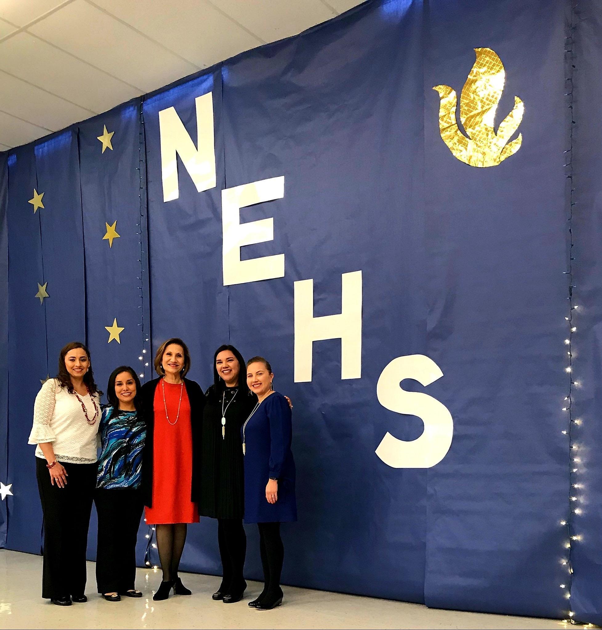 NEHS staff posing