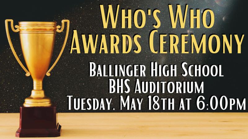 Who's Who Awards Ceremony