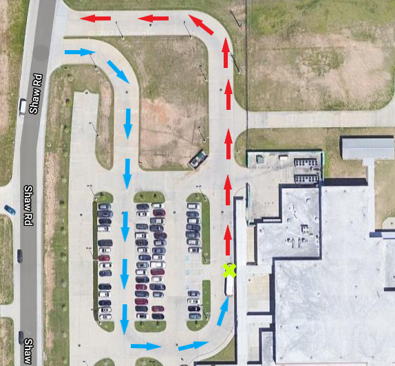 WES curbside map