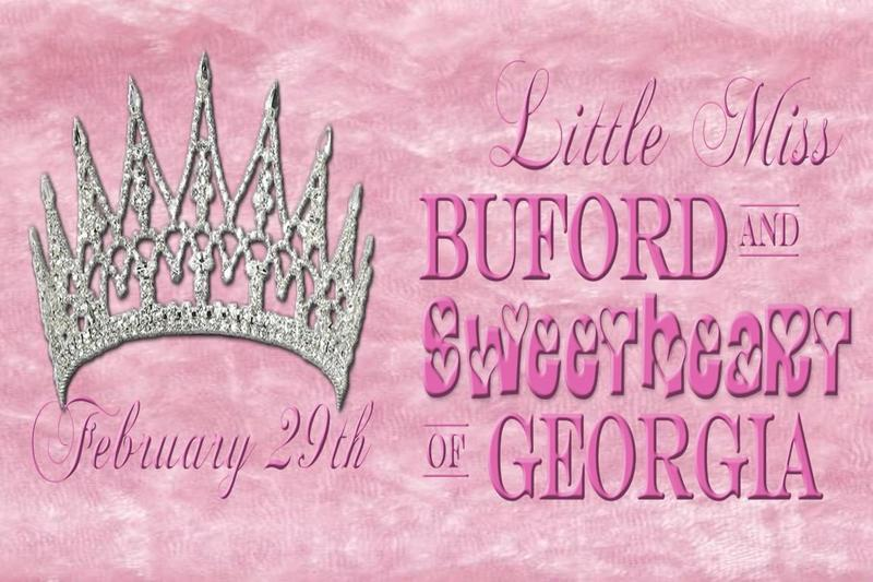 Miss Buford and Miss Sweetheart of Georgia Pageant graphic