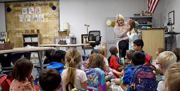 2019 Kindergarten Class First Day