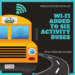 graphic for article on WiFi on 6 activity buses