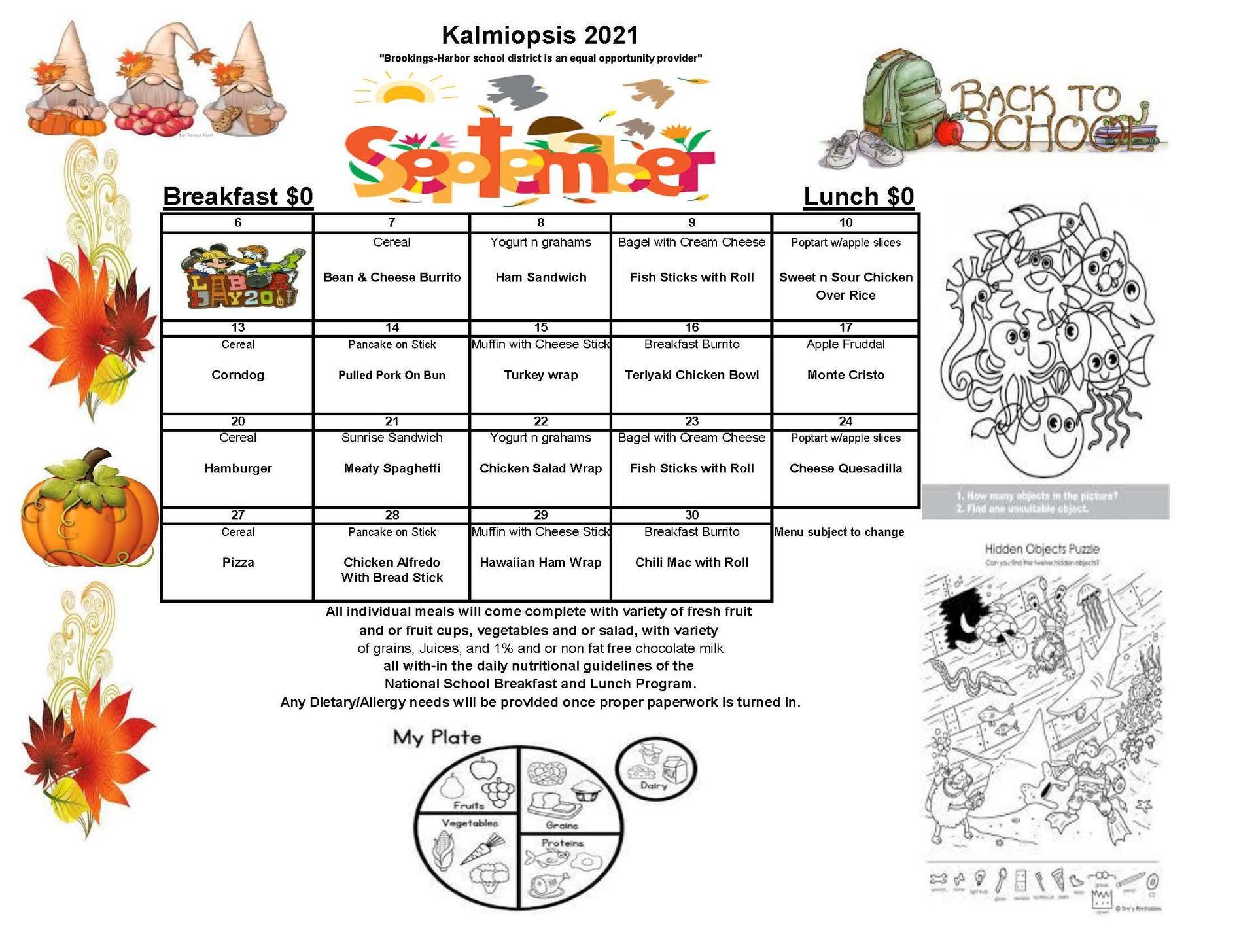 September KSchool