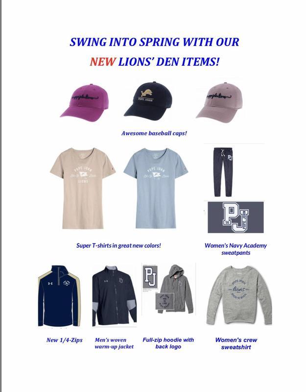 Lions Den new items
