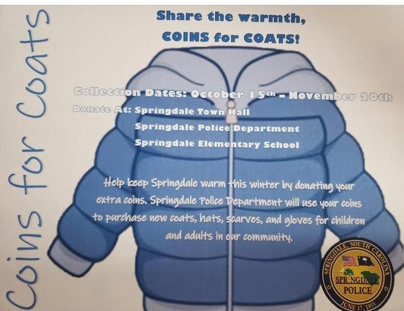 Share your spare change (and bills) and share the warmth for our Coat Drive now through November 15.