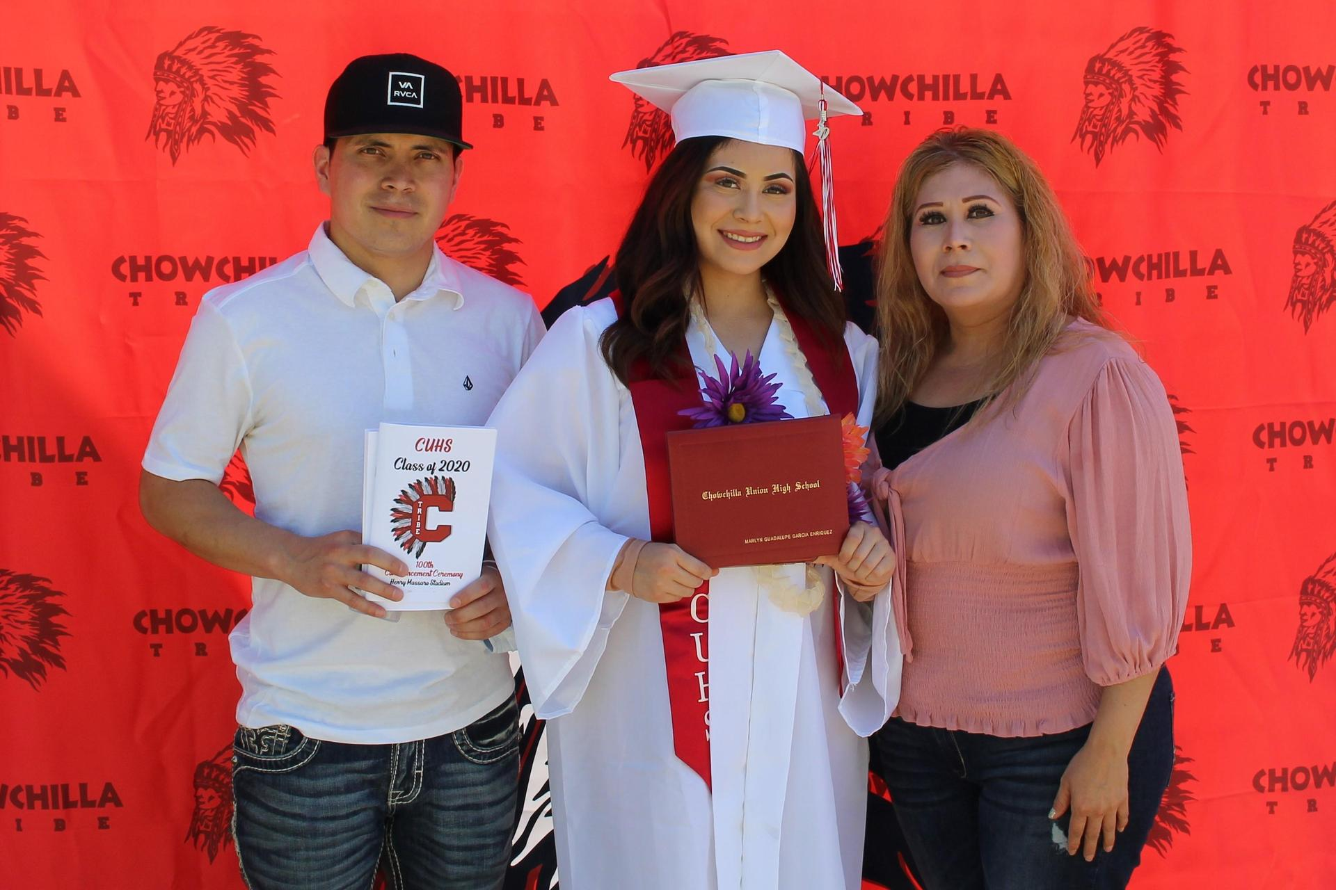 Marlyn Garcia and family