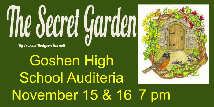 Info for The Secret Garden Play