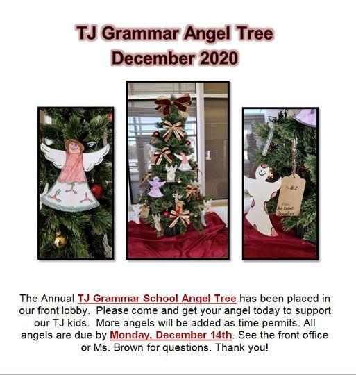 TJ Grammar Angel Tree