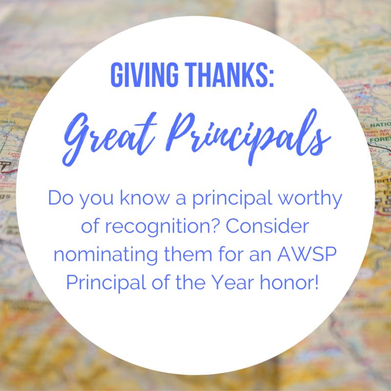 Giving Thanks: Great Principals Thumbnail Image