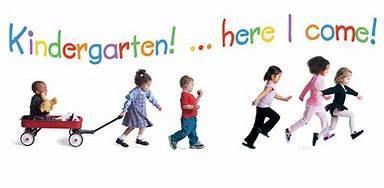 kindergarten here I come