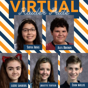 Virtual Students Raider Pride Fall Semester