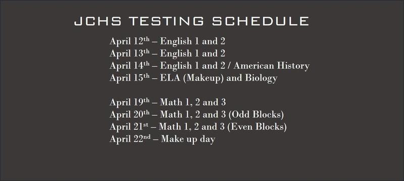 eoc test schedule