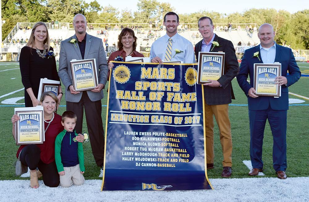 2017 Mars Area High School Sports Hall of Fame Inductees