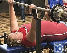 Glynnis Santeramo competing for national spot for Paralympics