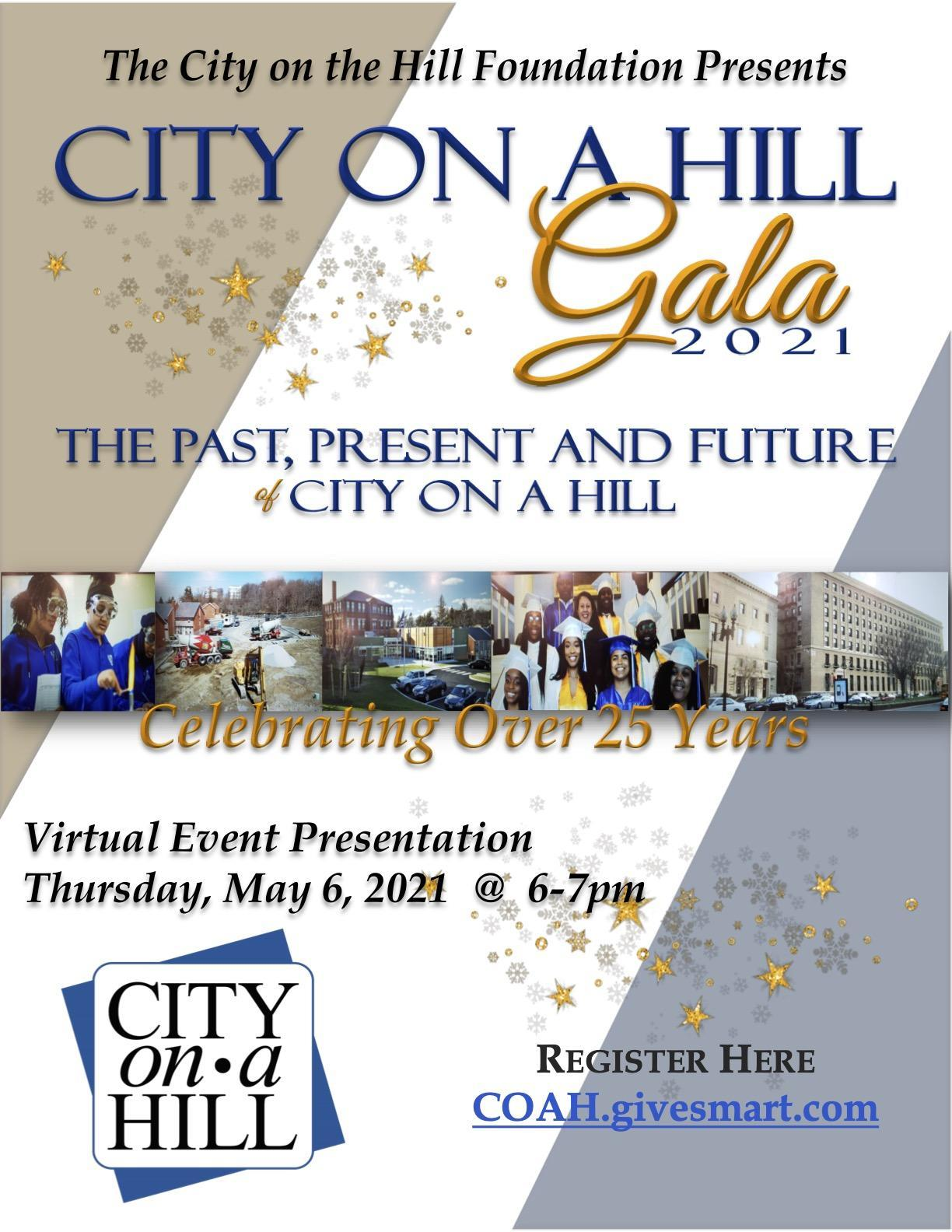 Invitation to the 2021 City on a Hill Gala
