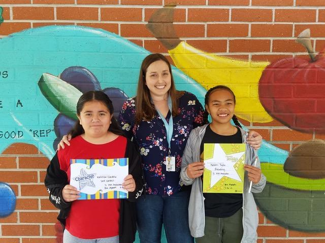 Mrs. Kapustin's 5th Grade Winners