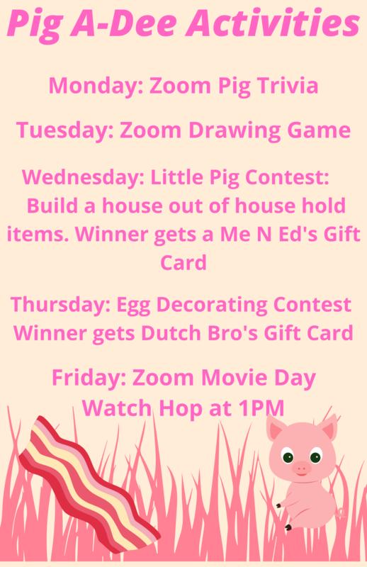 Pig A-Dee Activities