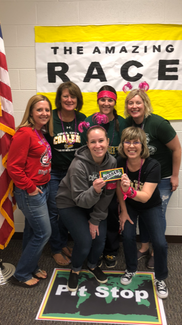 Amazing Race Winners - Teacher Appreciation Week