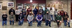 HS Staff in Masks -  College Month