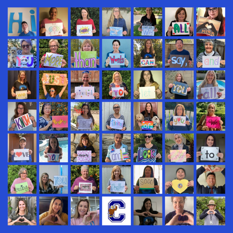 A special message for our amazing students...from the Cox Staff! Featured Photo