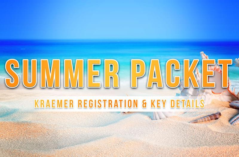 Kraemer Registration & Key Details