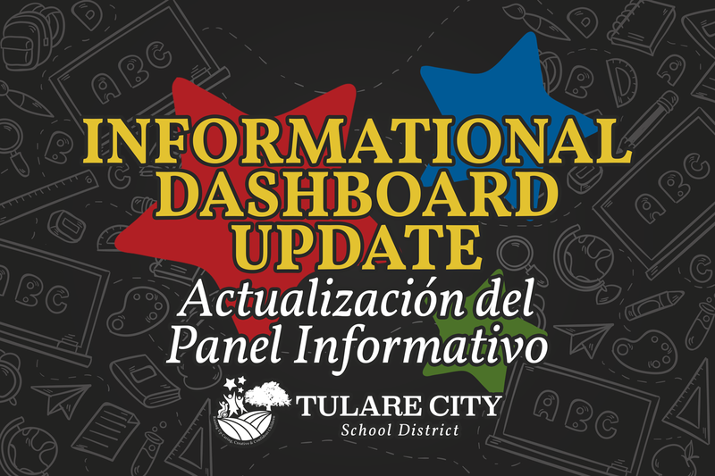informational dashboard update