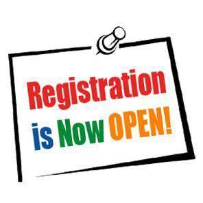 Registration is now open