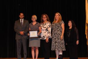 Patricia Smeyers awarded Hudson County Teacher of the Year