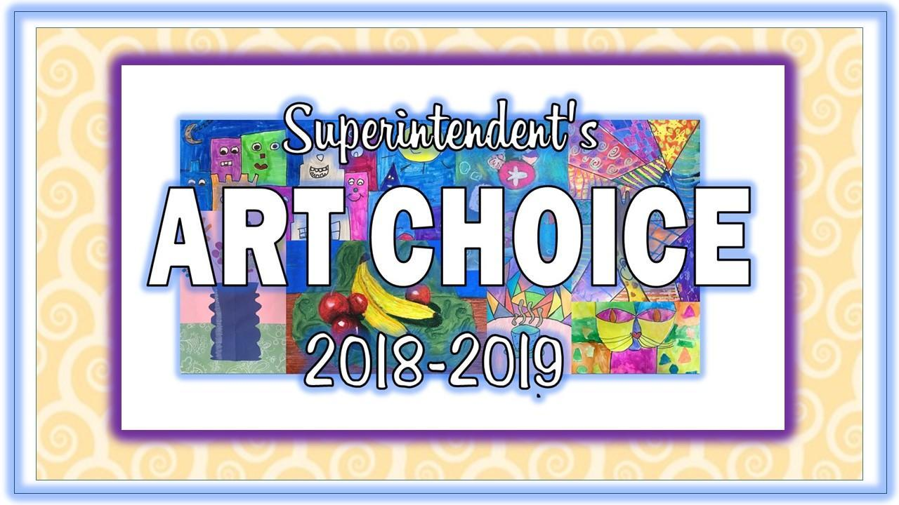 2018-2019 Art Choice Winners