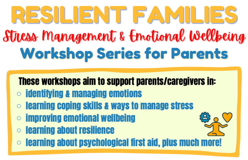 Stress Management & Emotional Wellbeing Workshop Series for Parents Featured Photo