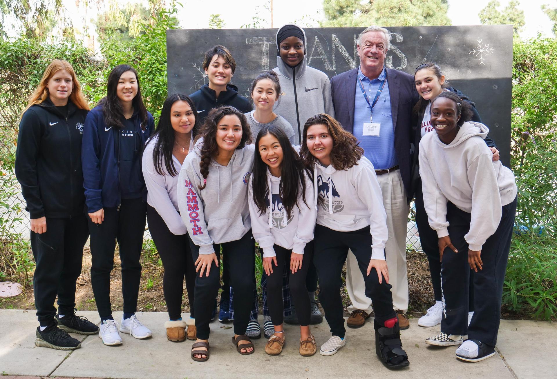 Varsity Girls' Basketball with Pat McCabe