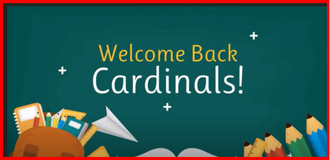 Welcome Back Cardinals!