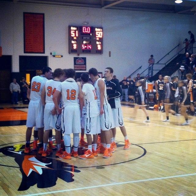 ISD Orioles Boys Basketball Game