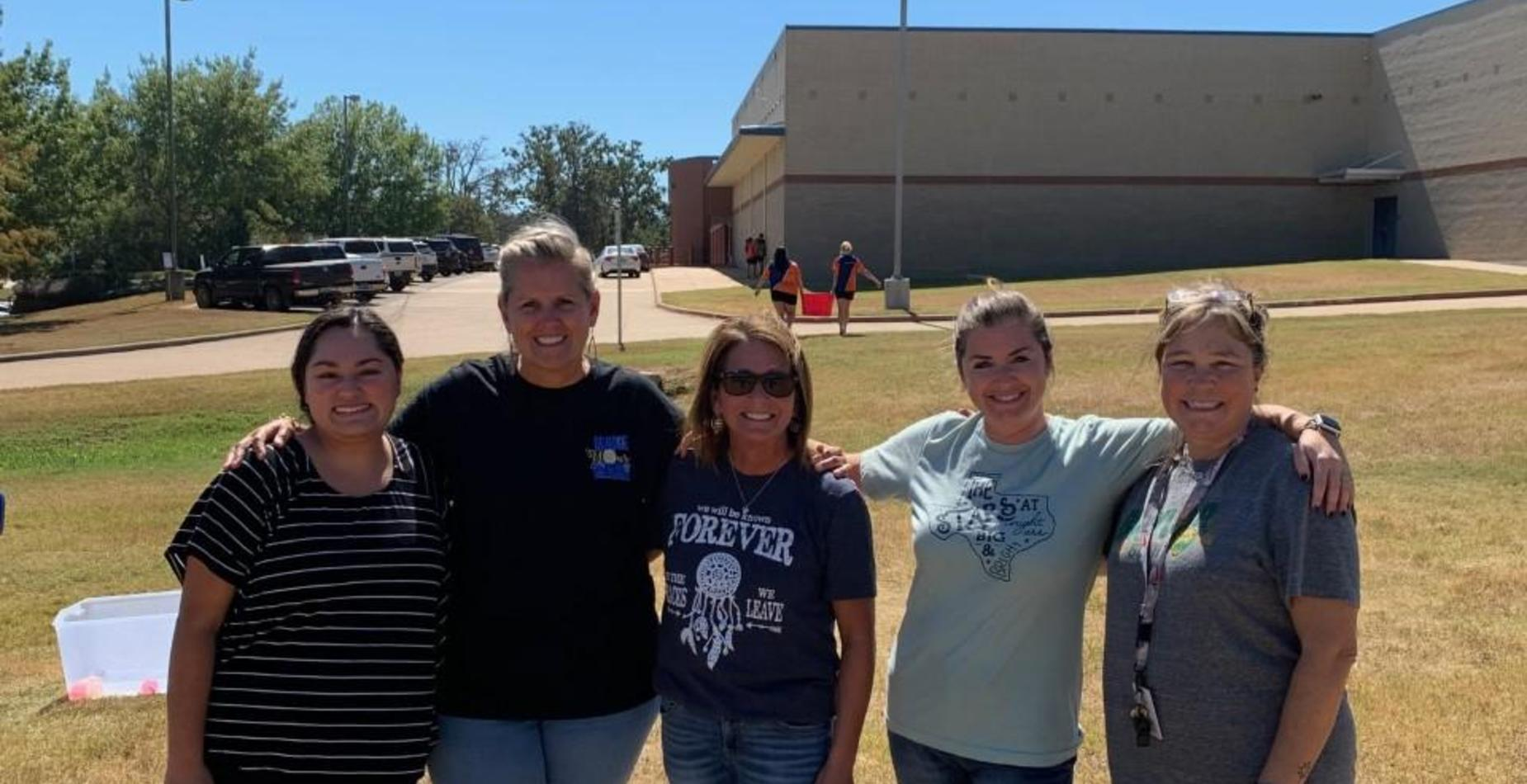 Teacher and Principals VS Students water balloon fight