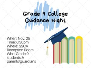 College Guidance Night