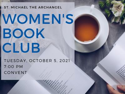 SMA Women's Book Club Featured Photo